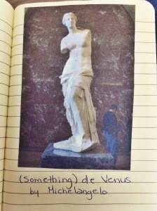 Milo de Venus at the Louvre. PARIS