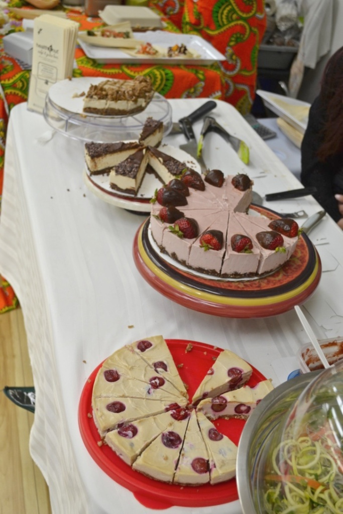 Cheesecake table