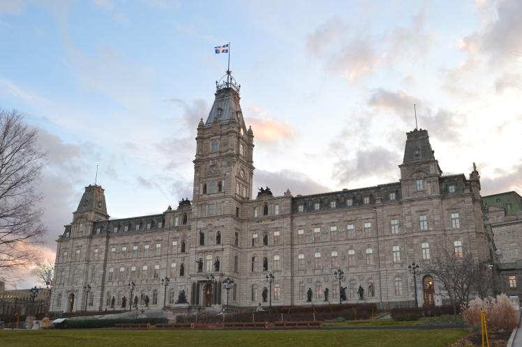 hotel de parlement; quebec city; old quebec; The Full-Time Tourist
